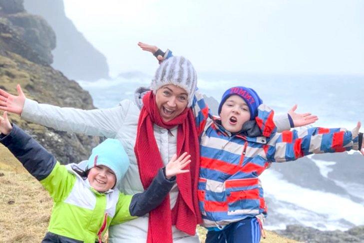 dzieci na wyspach owczych