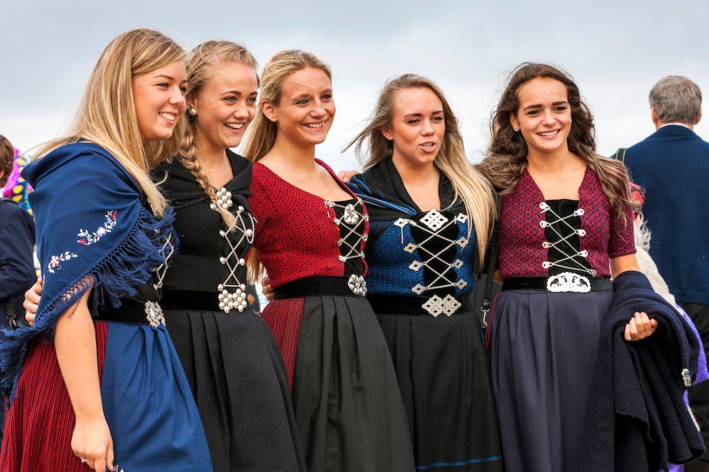 Ólavsøka – narodowe stroje farerskie